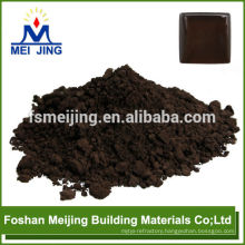 pigment as dark brown high temperature pigment for making crystal mosaic