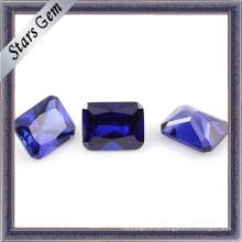 D-Фиолетовый Октагон Принцесса огранки огранки кубического циркония