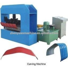 best selling CE certified color steel automatic hydraulic curving equipment/curving machinery