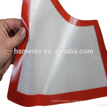 2015 Best selling silicone heat resistant kitchen baking mat