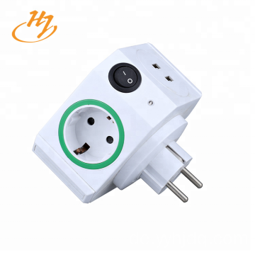 EU Typ 2-USB Smart Plug