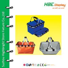 Fashionable shopping bags folding picnic basket