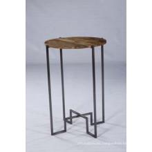 Venta al por mayor última mesa lateral moderna de diseño para el café