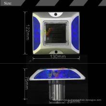 Безопасность дорожного движения Светоотражающие солнечные алюминиевые светодиодные дорожные шпильки