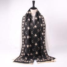 New Arrived Luxury Brand Jacquard Design Women Cashmere Scarves Thick Warm Pashmina Shawls Scarf
