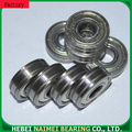 Small ball roller bearing 608-ZZ with double groove