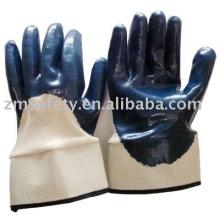 Heavy Duty Safe Cuff Nitrilbeschichteter Handschuh