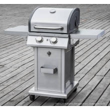 CSA Approved 2 Burner Outdoor Gas Barbecue Grill for Sale