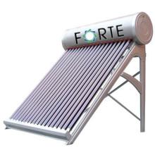 Chauffe-eau solaire non pressurisé pour la famille utilisant 250L