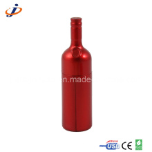 Plastic Red Wine Bottle USB Drives (JP314)