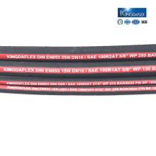 """1/2"""" высокая Пожарная давления упорный Гидровлический резиновый шланг SAE100R1/Р2"""