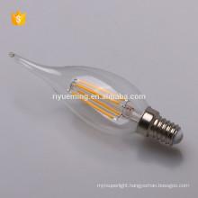 LED Filament C35T Candle Bulb 2w 4w 6w e14 base