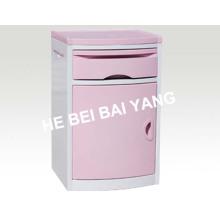 (C-101) ABS Bedside Cabinet (Pink)