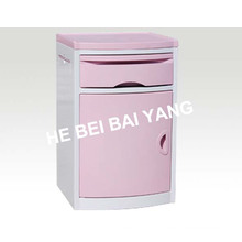 (C-101) Armário de cabeceira ABS (rosa)