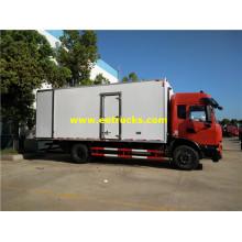 Camiones de entrega de alimentos congelados Dongfeng 10tons