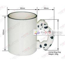 Tasse animée en blanc de sublimation mug au souvenir --- fabricant