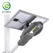 Lampadaire solaire en torchis de stationnement extérieur IP65