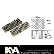 X Series Corrugated Staples for Furnituring