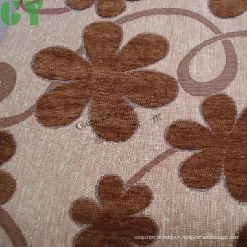 Canapé / rideau / tissu de rembourrage en jacquard de chenille (G44-236)