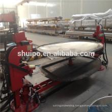 2015 Top Quality Elliptical Head Shearing and Flanging Machine Edge Making Machine Plate Shearing and Bending Machine
