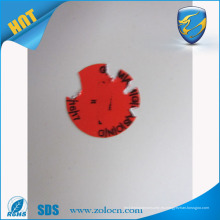 Nueva etiqueta adhesiva profesional de papel de cáscara de huevo