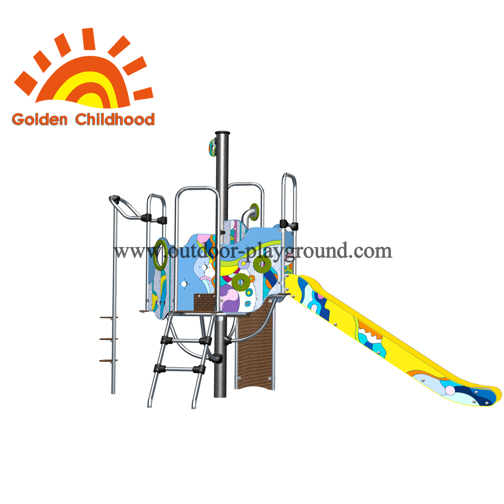 Colorful Type Slide Outdoor Playground Equipment For Children