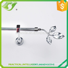 wholesale clover Silver curtain rods