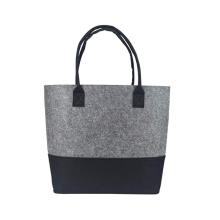 wholesale custom logo Promotional hand made shopper bag shopping felt tote bag