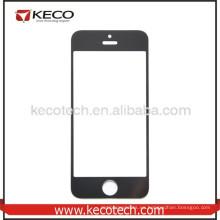 Nueva marca de reemplazo de pantalla táctil frontal lente de cristal para el iPhone de Apple 5s