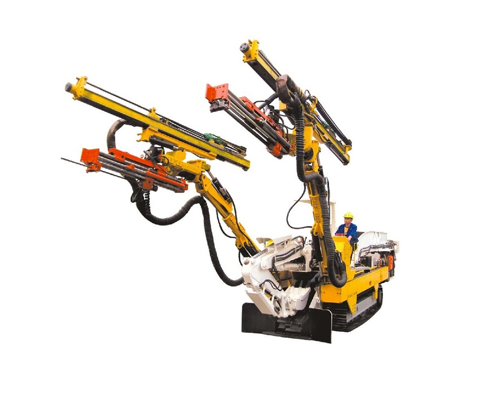 Double Boomer Drilling Rig Machine