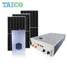 power wall Hybrid Grid 48V LiFePO4 Lithium ion Battery 10KWh Solar Home Energy Storage System