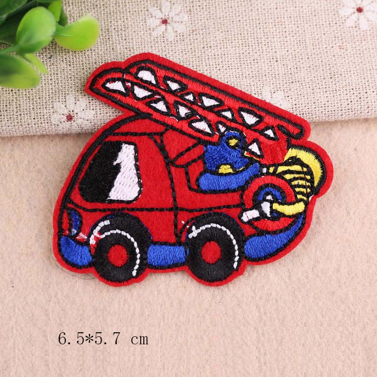 Car Embroidery Patch