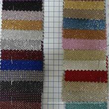 Ck-146 tecido de decoração de tecido de poliéster brilhante