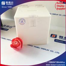 Wholesale Customized Acrylic Donation Box Clear Locking Box