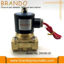 Válvula de control de fluido solenoide 2W200-20