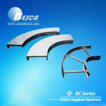 Fabricated ladder elbow cable ladder cable tray