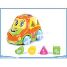 Juguetes educativos para el coche eléctrico con juguetes de música y educación