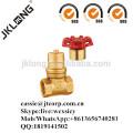 J1013 Messing magnetisch abschließbares Schieberventil