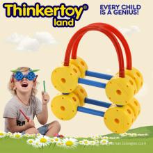 New Plastic Children Brain Education Factory Price Plastic Basket Toy