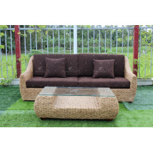 Hot Sales Splendid Design Water Hyacinth Sofa Set For Indoor Use or Living Room Natural Wicker Furniture