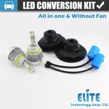 Kits de conversão de luzes de lâmpada LED 9004/9007 Tudo em um feixe alto baixo 4000 lumens
