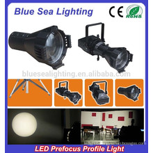 200W LED cool/warm white /LED 4IN1 prefocus profile spot led studio light
