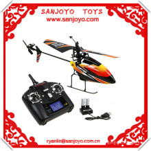2.4G 4CH Single Blade v911 battery Gyro RC MINI Outdoor r/c copter With LCD and 2 Batteries v911 helicopter