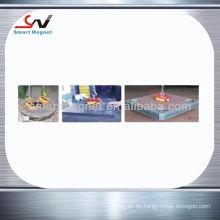Industrial fuerte manual permanente levantador magnético