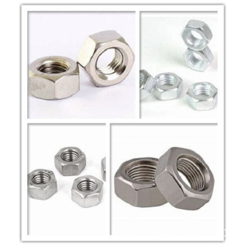 Customized CNC Machining Precision Steel Precision Steel Hexagon Nut