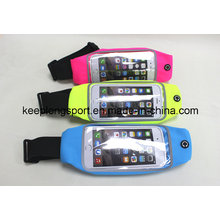 Fashionable Customized Lycra Material Waist Bag for iPhone