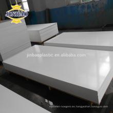 JINBAO 3 5 10MM de alta densidad comprimido celuca tablero de espuma de PVC
