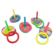 Juego de lanzamiento de anillo de plástico de juguete de colores educativos para niños (10223613)
