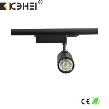 15W LED COB Regulable tracklight AC220V 4wire