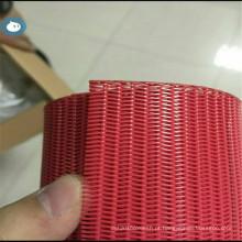 Correia transportadora de filtro de poliéster de alta temperatura para desaguamento de lodo